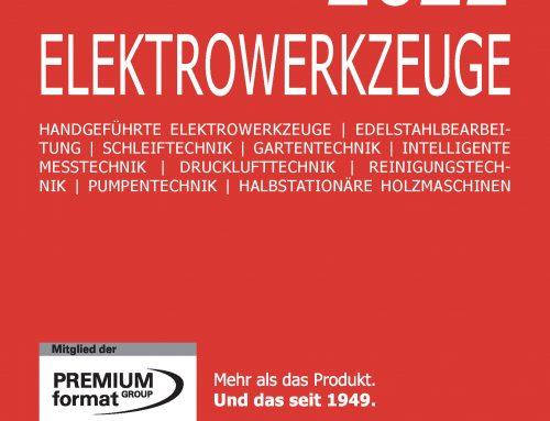 PREMIUM format Elektrowerkzeuge 2021/2022